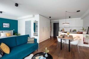 In Frankfurt entstehen HVNS-Apartments, die noch dieses Jahr eröffnen sollen. Bild: IC