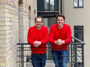 Constantin Rehberg und Hannibal DuMont Schütte. Bild: STAYERY